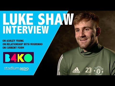 Luke Shaw on his relationship with Mourinho | B4KO Exclusive | Astro SuperSport