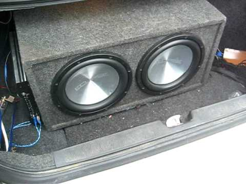 2 12 Inch Eclipse 88120 Subs Orion Hcca 2400 Watt Mono