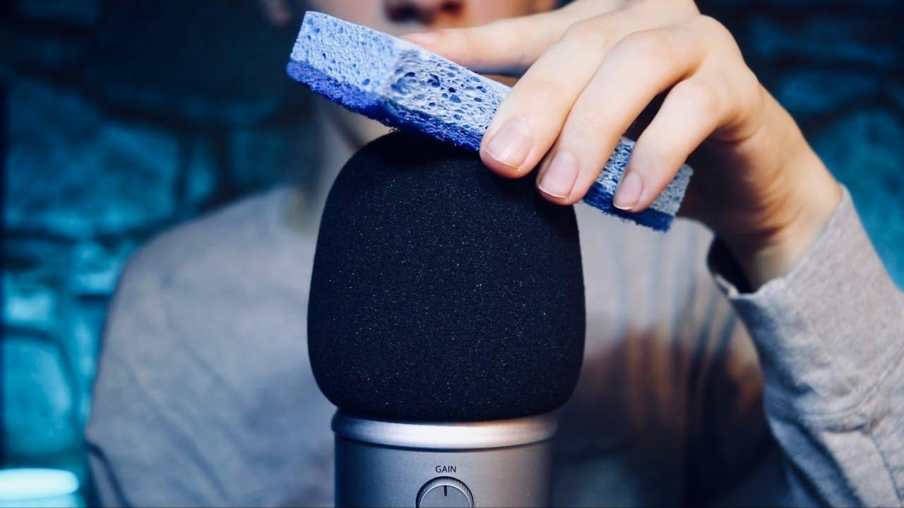Intense ASMR mic scratching and mic brushing (no talking)