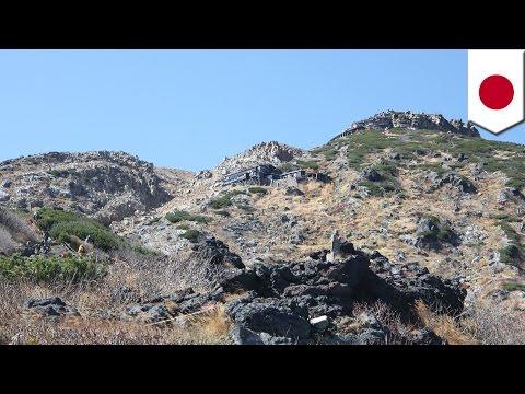 御嶽山が噴火 多数のけが人