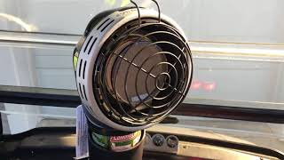 Mr. Heater golf cart heater, modle # MH4GC, Review