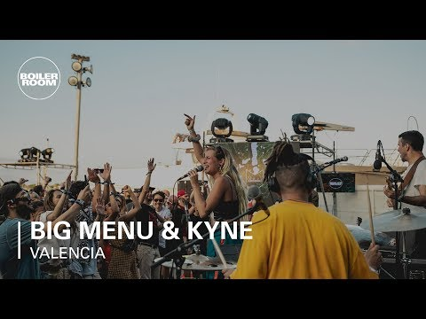 Big Menu w/KYNE Live Hip Hop | Boiler Room x Ballantine's True Music Valencia