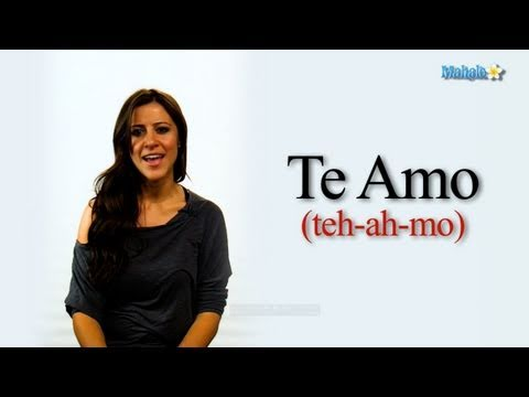 Say i love you in spanish