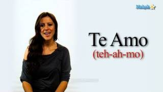"How to Say ""I Love You"" in Spanish"