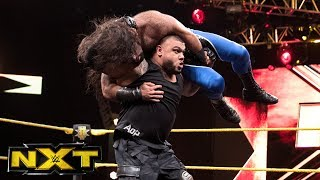 The Authors of Pain vs. Anthony Dominguez & Wilmer Freyday: WWE NXT, June 14, 2017
