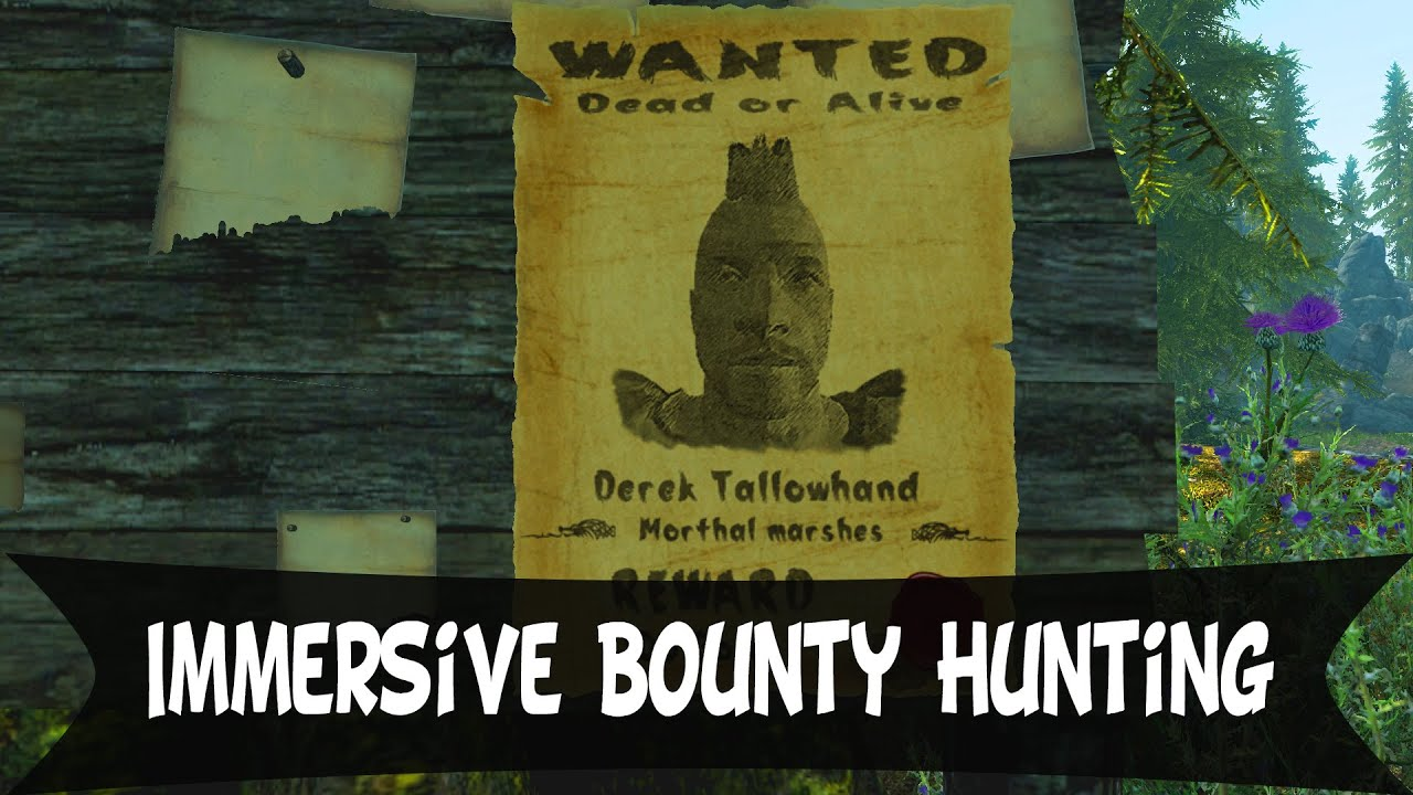 skyrim bounty how to get