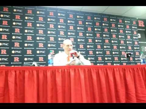 John Groce - Rutgers postgame 2017