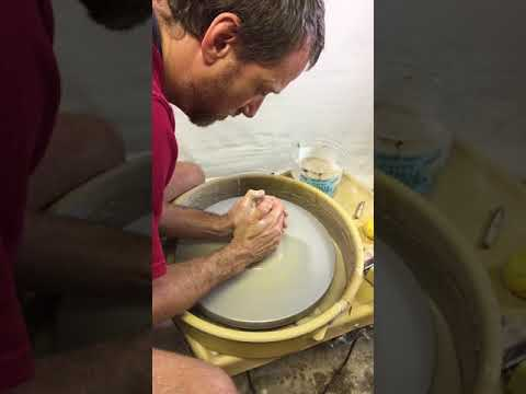 How to Center Clay For Pottery