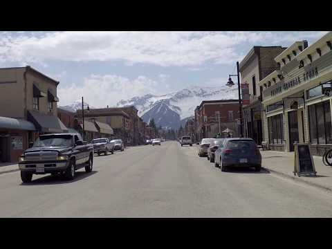 Fernie BC Canada - Driving in City/Town - Ultimate Winter Sports Resort
