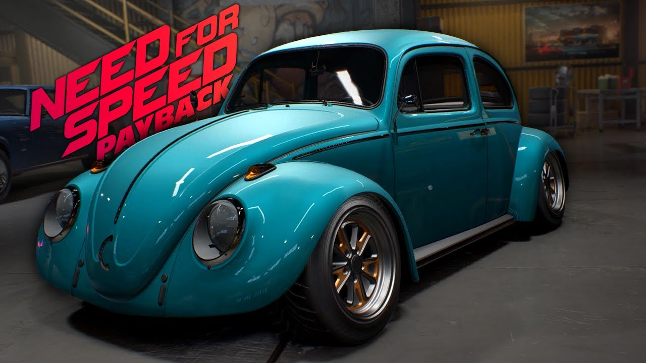 Need for Speed Payback VW Stance Beetle Customization Gameplay - YouTube