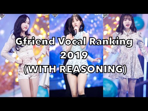 Gfriend Vocal Ranking 2019 (WITH REASONING)