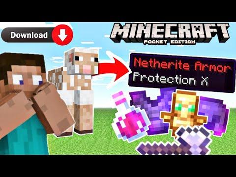 Minecraft, but sheep's drop op items😱😱   Minecraft   nariyal is op
