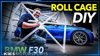 How to Install a Studio RSR Bolt In Roll Cage in an F30 BMW 335 (Same as F80 M3) #f30rollcage