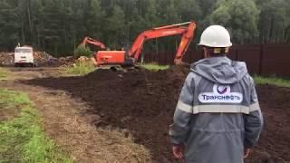 В Подмосковной деревне Купавна преступники врезались в трубу с нефтепродуктами