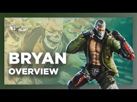 Bryan Overview Tekken 7 4k Youtube