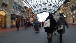 Park opening at Tokyo Disneyland January 2016