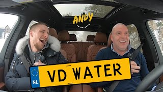 Silvester van der Water - Bij Andy in de auto! (English subtitles)