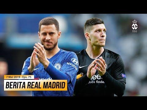 Hazard Isyaratkan Kepergiannya Dari Chelsea ● Eintracht Bantah Kesepakatan Transfer Luka Jovic