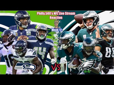 Seahawks VS Eagles  |Live Stream Reaction | Week 12