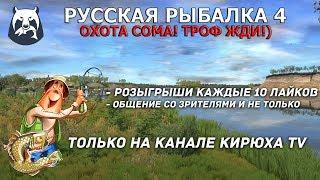 Русская Рыбалка 4 Охота на сома Троф жди Розыгрыши