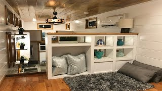 8′ X 26′ Movie Star By Incredible Tiny Homes | Living Design For A Tiny House
