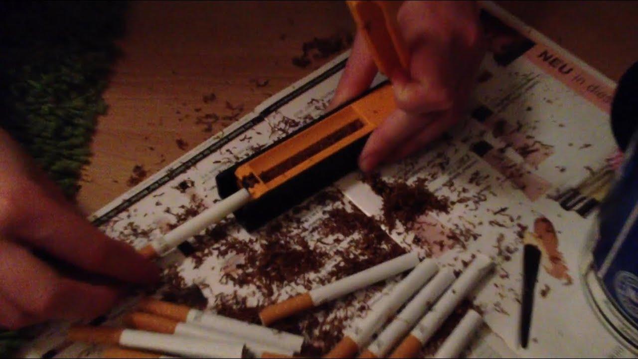 Zigaretten Selbst Drehen
