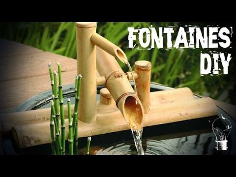 Fontaine Jardin Japonais