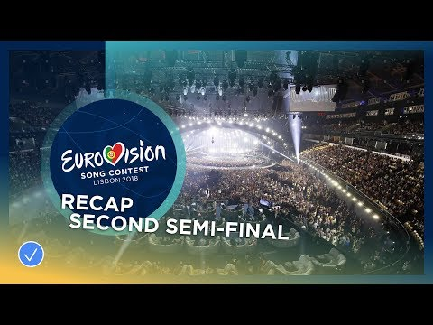 Recap of all the songs performed at the second Semi-Final of the 2018 Eurovision Song Contest