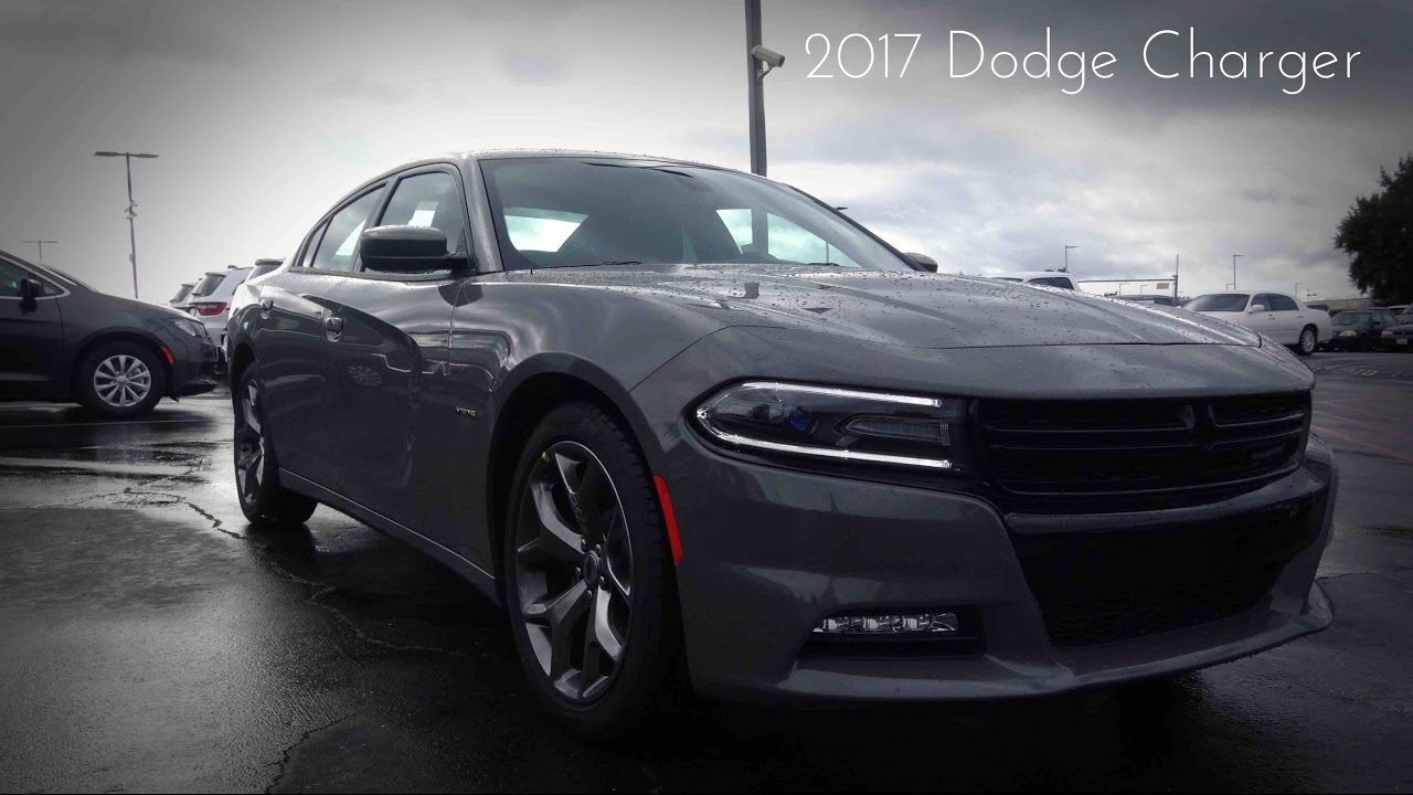 2017 Dodge Charger R T 5 7 L Hemi V8 Review Youtube