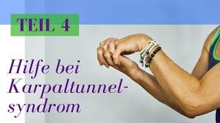 Hilfe beim Karpaltunnelsyndrom - Teil 4 von 4