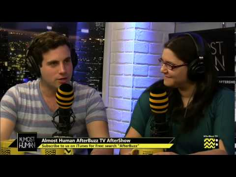 """Download Almost Human After Show Season 1 Episode 11 """"Disrupt""""   AfterBuzz TV"""
