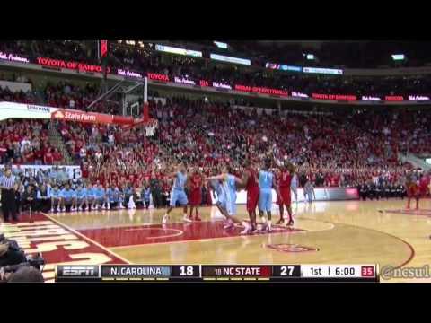 North Carolina vs. NC State - January 26, 2013