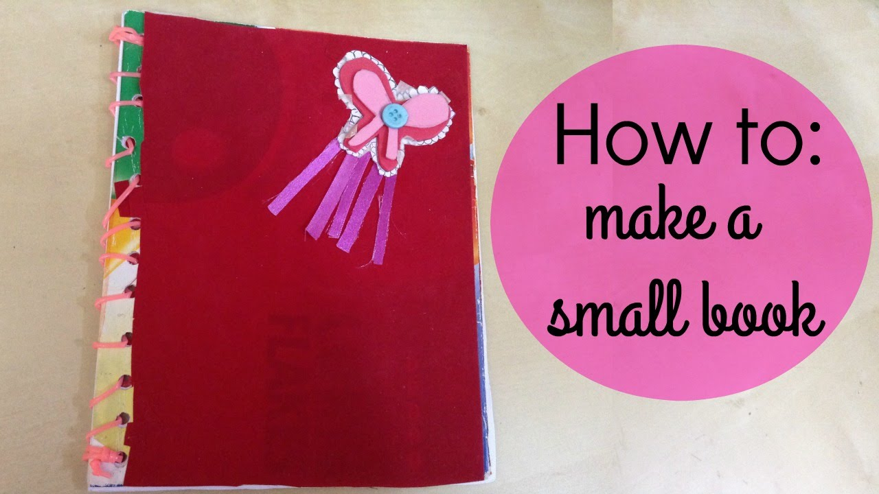 How to make a small notebook using cereal box youtube how to make a small notebook using cereal box ccuart Gallery