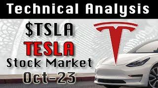 $TSLA : TESLA Oct-23 Update Stock Market Technical Analysis Chart