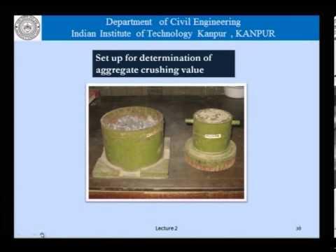Mod-01 Lec-02 Constituents of concrete (Part 1 of 2)