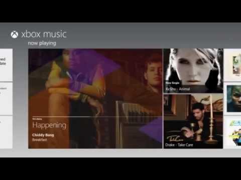 Microsoft debuts Xbox music service