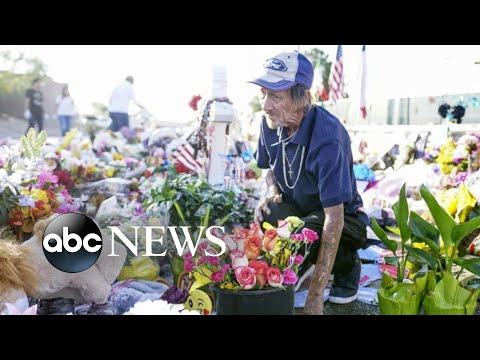 Moving memorial for a victim of the El Paso massacre