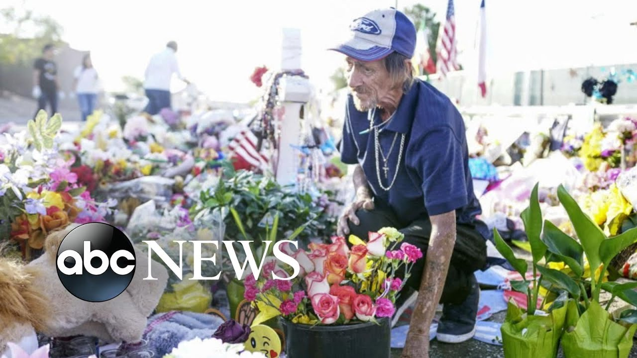 ABC News:Moving memorial for a victim of the El Paso massacre