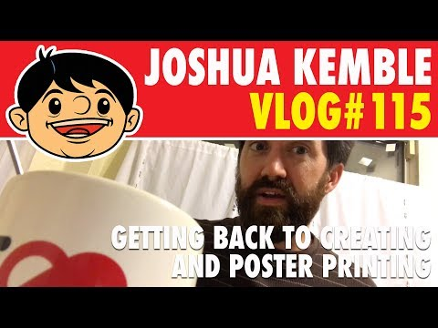 Getting Back To Creating And Poster Printing Vlog #115