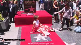 Jennifer Lopez - Hollywood Walk of Fame Ceremony 20/6/13