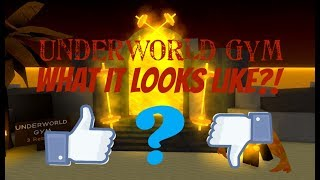 What The Underworld Gym Looks Like?!! | Roblox Weight Lifting Simulator 3