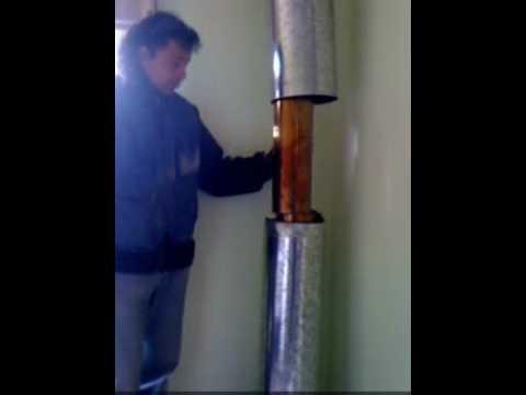 Limpeza de ca ones a estufas de combusti n lenta doovi - Como instalar una chimenea de lena ...