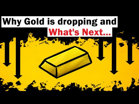 Here's Why Gold Is Dropping (and What's NEXT)