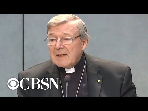 Vatican Treasurer Cardinal George Pell convicted on sex abuse charges