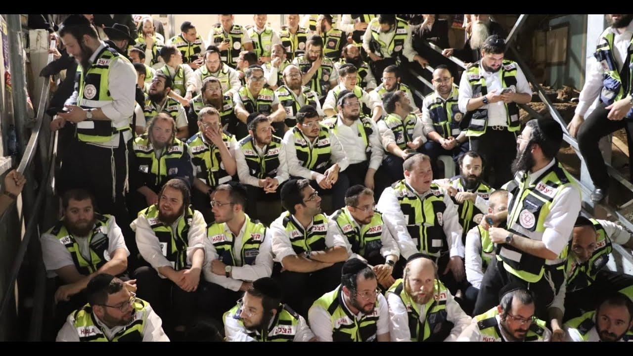 Hatzalah Volunteers Return to Scene of Meron Tragedy | מתנדבי ארגון הצלה חזרו למקום האסון