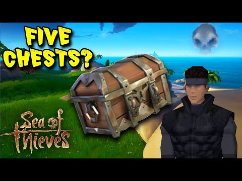 Sea of Thieves Funny Moments and Fails #2: HE HAS FIVE CHESTS!?
