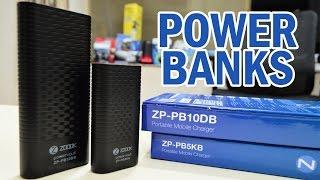 Zoook 10000 mAh and 5000 mAh Power Banks