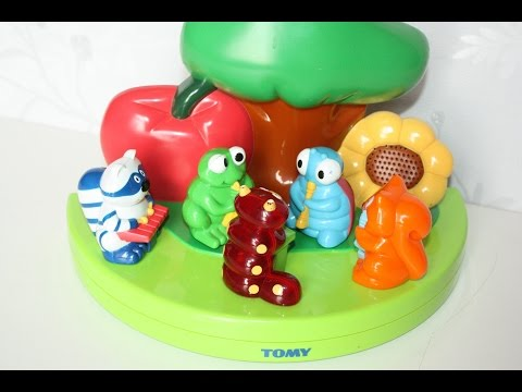 TOMY 2002 Animals Music Instruments Melody Maker Band Kids Toys