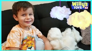 Handmade Cloud Light DIY Kit with Wireless Remote by Proloso TOY REVIEW - Willy