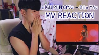 BÍCH PHƯƠNG - Bùa Yêu MV REACTION with G7 Cà phê [Phụ đề tiếng việt]